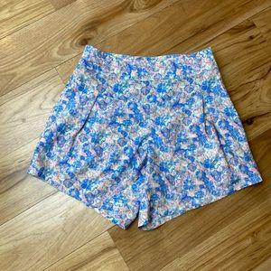 Adidas Pastel Floral Dressy Shorts